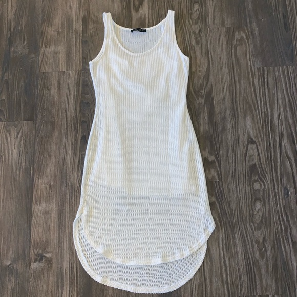 Honey Punch Dresses & Skirts - Ivory Knit Dress